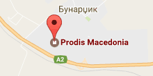 Prodis in map